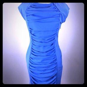 Trendy blue Ted Baker dress